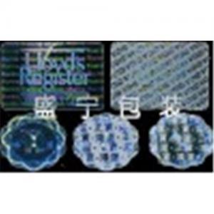 China Laser Hologram Tamper Evident  label (sticker) on sale