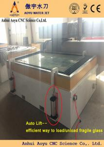 Stainless Steel High Pressure Water Jet Machine For Window - Glass floor panels for sale
