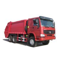 Sinotruk Howo 6x4 18CBM Compactor Garbage Truck / Garbage Container Lift