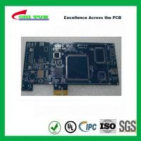 Blue Multilayer PCB Board 6l fr4 1.6MM LF HASL + GOLD FINGER
