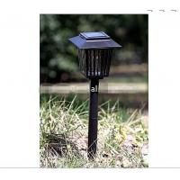 DC12V  bright purple LED solar powered garden / lawn light, good for camping / outdoor