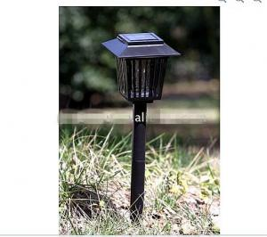 China DC12V  bright purple LED solar powered garden / lawn light, good for camping / outdoor on sale