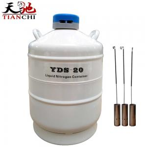 China TIANCHI 20 litre container liquid nitrogen price on sale