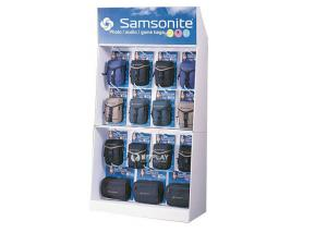China Corrugated POP Displays Custom Wall Display Racks With Hooks on sale
