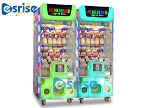 China Crazy Toys 3 Coin Operated Game Machine Prize Claw Doll Grabber on sale