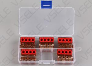 China 10 PCS Aluminum Fast 41A Electrical Push Connectors on sale