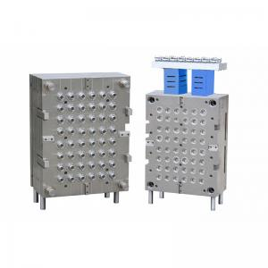 China Multi Cavity Industrial Parts Hot Runner Injection Mould for Mineral Water Cap , 48 CAV on sale
