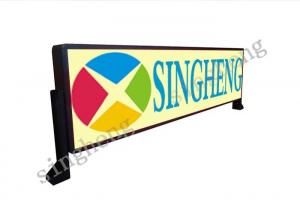China Truck Mounted Rear Window Led Sign , Bus Window Display High Level Protection on sale