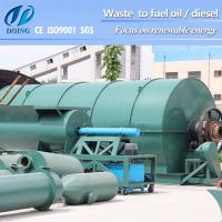 2013 High Profit Project! Popular in Malaysia waste plastic to oil Machine