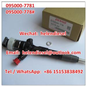 Genuine and New DENSO injector 095000-7780 ,095000-7781,9709500-778