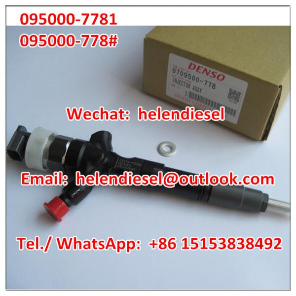 Genuine and New DENSO injector 095000-7780 ,095000-7781
