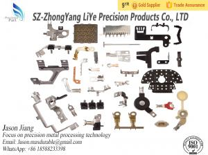 China Hot Sale OEM high precision cnc machining Stainless Steel Sheet Metal Stamping Parts on sale