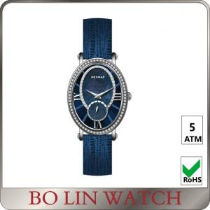 China CNN Stones Ladies Big Dial Wrist Watches , Luxury Womens Diamond Watch on sale