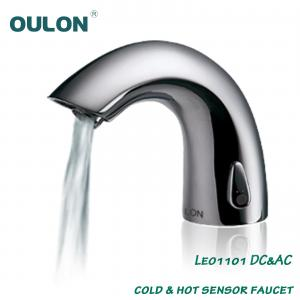 China OULON cold & hot sensor faucet Leo1101DC&AC on sale