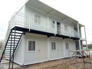 China Fast Assembly Prefabricated Shipping Container Houses , 20ft / 40ft Shipping Container Home on sale