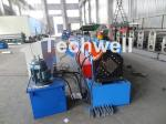 Metal Stud And Track Roll Forming Machine , Sheet Metal Roll Former For Roof Truss