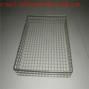 China instruments tray /stainless steel wire mesh basket /wire mesh basket /medical instruments tray on sale