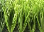 50mm Double Spined Soccer PE Material Artificial Grass Bi-color Excellent Standing Matte Appearance