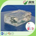 La etiqueta engomada plástica etiqueta el pegamento caliente industrial del derretimiento, pegamento caliente del derretimiento de la resina sintética del polímero