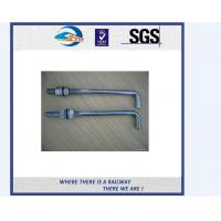 TS16949 Approved Truck Bolt And Nut / Railway Fastener T Bolts With Gray Phosphating