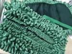 Green 16*95cm Tassels For Laundry Hotel Microfiber Wet Mop Pads