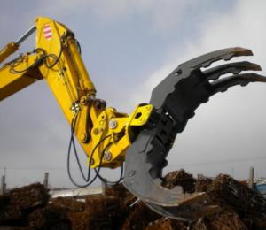 China factory price for mini excavator with log grapple for CAT excavator on sale