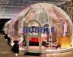 2.5M PC non-inflatable bubble house   transparent starry sky room   tent house spherical   restaurant   hotel   landscap