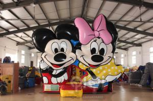 China Disney Mickey Minnie Inflatable Bouncer on sale