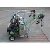 China Automated Gasoline Engine Mobile Milking Machine Dairy Milking Equipment on sale