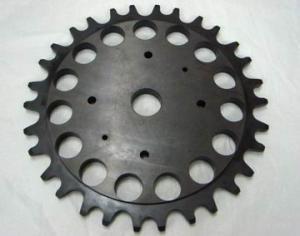China Carbon steel Precision Gears , 20CrMnTi 40Cr precision big modulus worm gear on sale