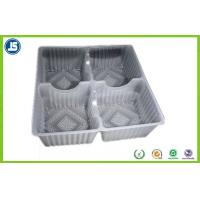 Oat Choco Biscuit Plastic Blister Packaging With Grey PET / PS