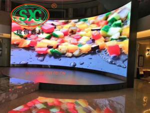 China P3.91 Indoor Super Slim LED Video Wall Displays Concert Screen 64*64 Dots on sale