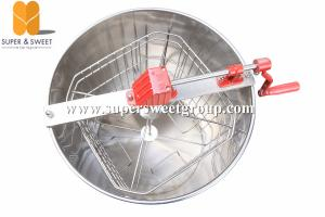 China beekeeping equipment stainless steel 4 frames honey extractor / honey extrators on sale