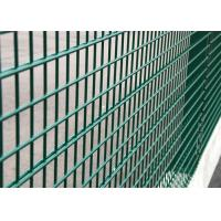 China Welded 2D Panel Wire Mesh Fence 630 X 2500mm Galvanized Wire Material on sale