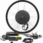 1500W 26 Inch Electric Bike Conversion Kit Front Wheel Entry Level Enough Power