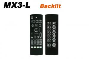 China MX3-L backlight Portable 2.4G Wireless Remote Control IR Keyboard backlight MX3 Air Mouse for Smart Android TV box on sale