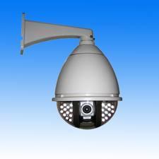China Constant Speed CCTV CCD Ball IR Camera, 100m IR Distance on sale