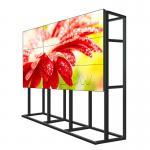 Anti Glare Surface Monitor Para Video Wall / Multi LCD Display 500 Nits