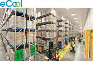 Steel Sheets Cold Storage Warehouse PU Panel Assembling