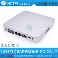 2015 NEW Intel Celeron C1037U aluminum fanless dual core living room HTPC Barebone Mini PC with USB 3.0 HDMI