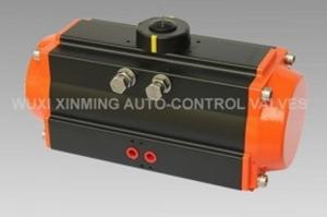 China 0~90 Degree AT Series Double Action And Single Actiom Pneumatic Actuator  Pneumatic Valve actuator on sale