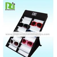 Tilted Type Compartment Small Counter Display Standing To Showcase Sunglasses