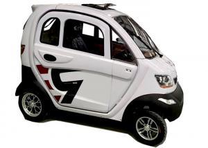 China 4 Wheels Mini Electric Car 60V1200W Optional Speed Motor 55km Longer Travel Range on sale