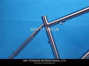 China GR9 titanium road bike frame on sale