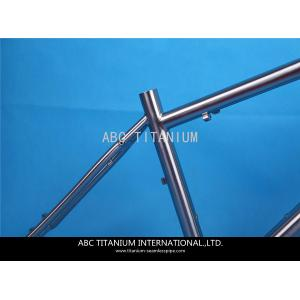 China GR9 titanium road bike frame on sale
