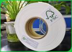 14mm 15mm Roll Width Biodegradable FDA 60gsm 80gsm 120gsm 135gsm Food Grade Safe Straw Paper For Disposable Paper Straw