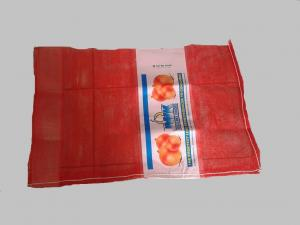 China pp tubular red mesh bag 50x80,32gr/pc,onion bag on sale
