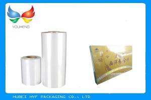 Quality Food Grade POF Shrink Film Stretch Wrap Film 25-30mic Thickness , Eco - Friendly for sale
