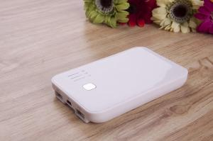 China Dual USB Portable Power Bank With 5000MAH for iPad, Tablet PC, PDA, Mobile Phones  on sale