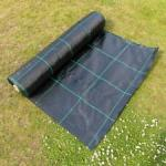 125gsm 14x14 Heavy Duty Weed Control Fabric Ground Cover Membrane For Greenhouse